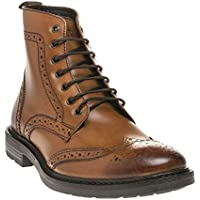 BASE LONDON Solid Mens Boots Tan