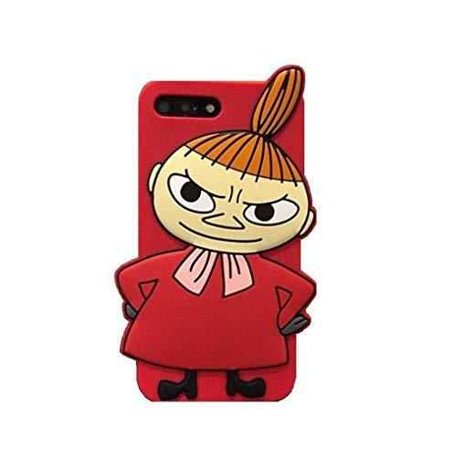 即納 シリコン製 超可愛らしいリトル・ ミィ携帯ケース iphoneケース Xsmax 全機種対応 ムーミン (iPhone7・8, ミィー)