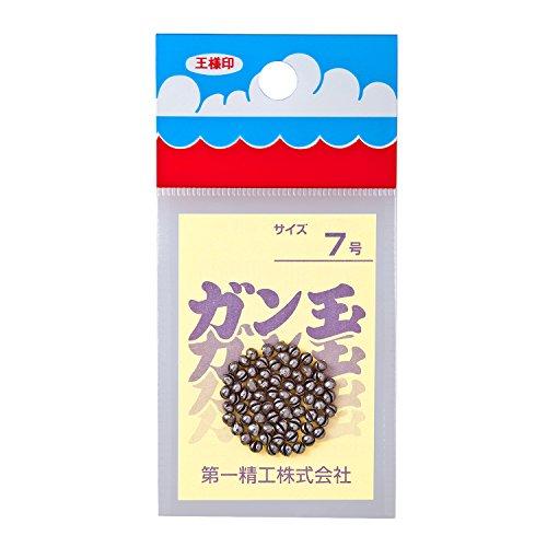 第一精工 ガン玉50円 7号