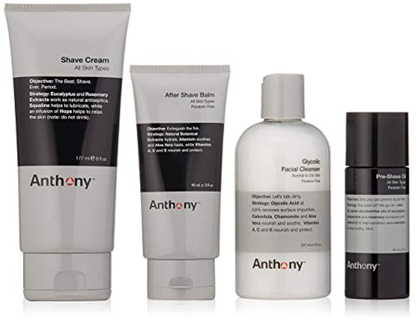Anthony The Perfect Shave Kit [並行輸入品]