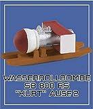 コラモデルス 1/72 ドイツ軍 SB 800RS 「クルト」 800kg 反跳爆弾2型 w/運搬ソリ プラモデル用パーツ KORC72133