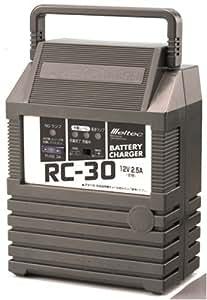 Meltec [ メルテック ] バッテリー充電器 (密閉型・開放型用)12V/2.5A RC-30
