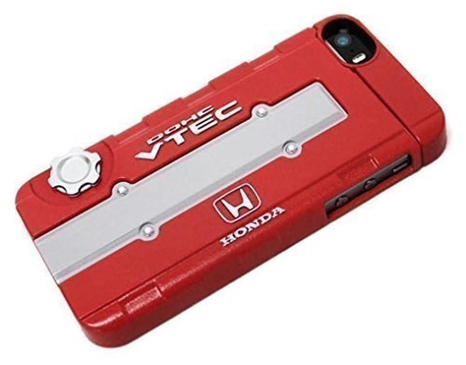 口径緩やかなプロフィールHONDA(ホンダ)公式ライセンス iPhone5/5S ケース?カバー VTEC