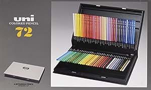 三菱鉛筆 色鉛筆 ユニカラー 72色 UC72C