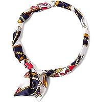 (エムエイチエー) M.H.A.style スカーフリング ネックレス 馬具柄 チェーン柄 ノームコア 21201