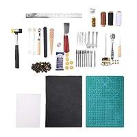 レザーツール、レザークラフト、DIY、手作り、裁縫、道具、皮革工具 手縫い 革工具セット