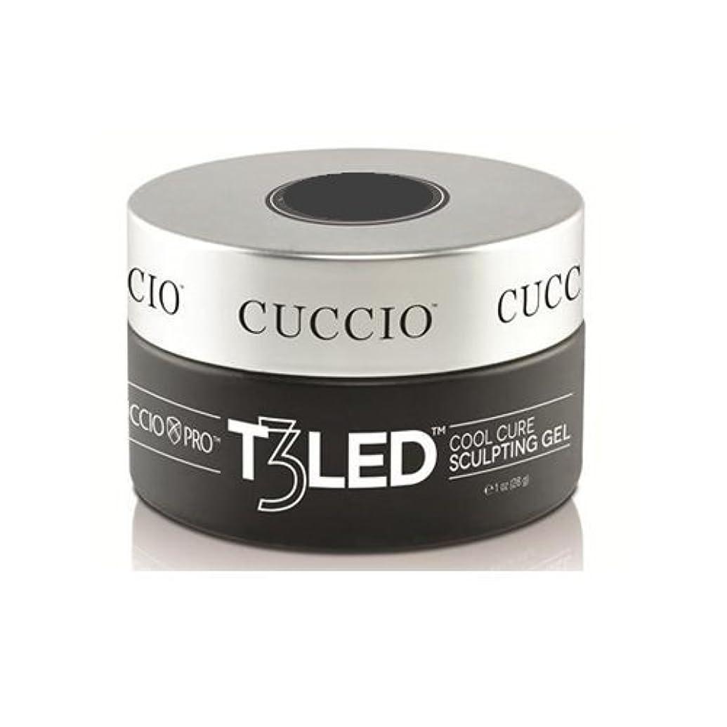 然としたのりたっぷりCuccio Pro - T3 LED/UV Controlled Leveling Gel - Opaque Welsh Rose - 1oz / 28g