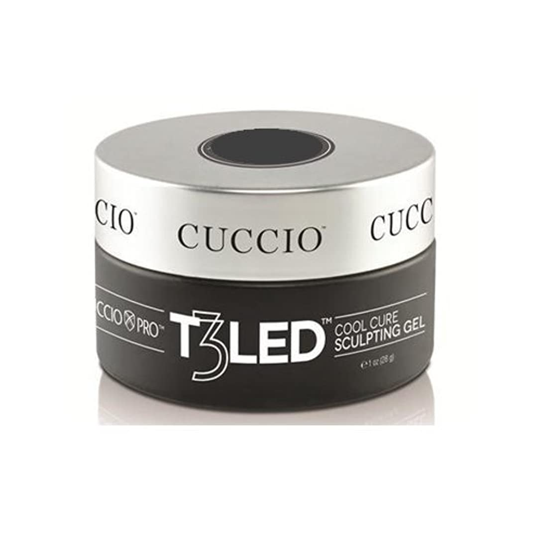 ひどくシート傾向がありますCuccio Pro - T3 LED/UV Controlled Leveling Gel - Opaque Welsh Rose - 1oz / 28g