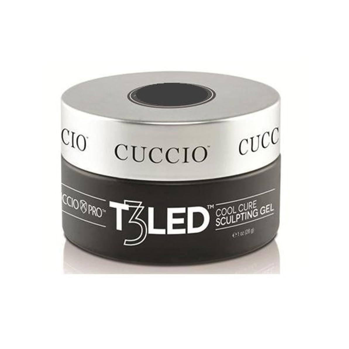スライムストラップネットCuccio Pro - T3 LED/UV Controlled Leveling Gel - Opaque Welsh Rose - 1oz / 28g