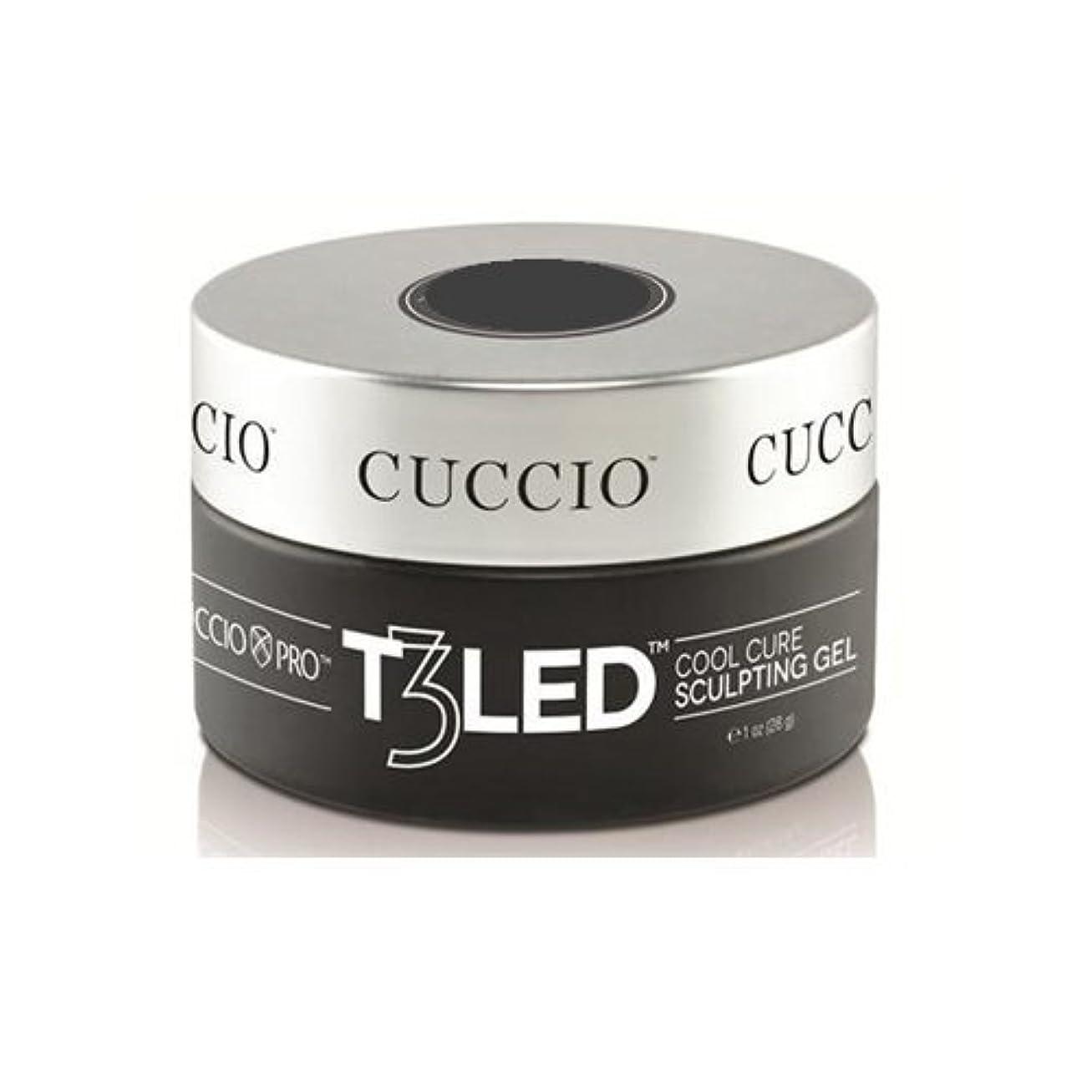 タンパク質破壊伝導率Cuccio Pro - T3 LED/UV Controlled Leveling Gel - Opaque Welsh Rose - 1oz / 28g
