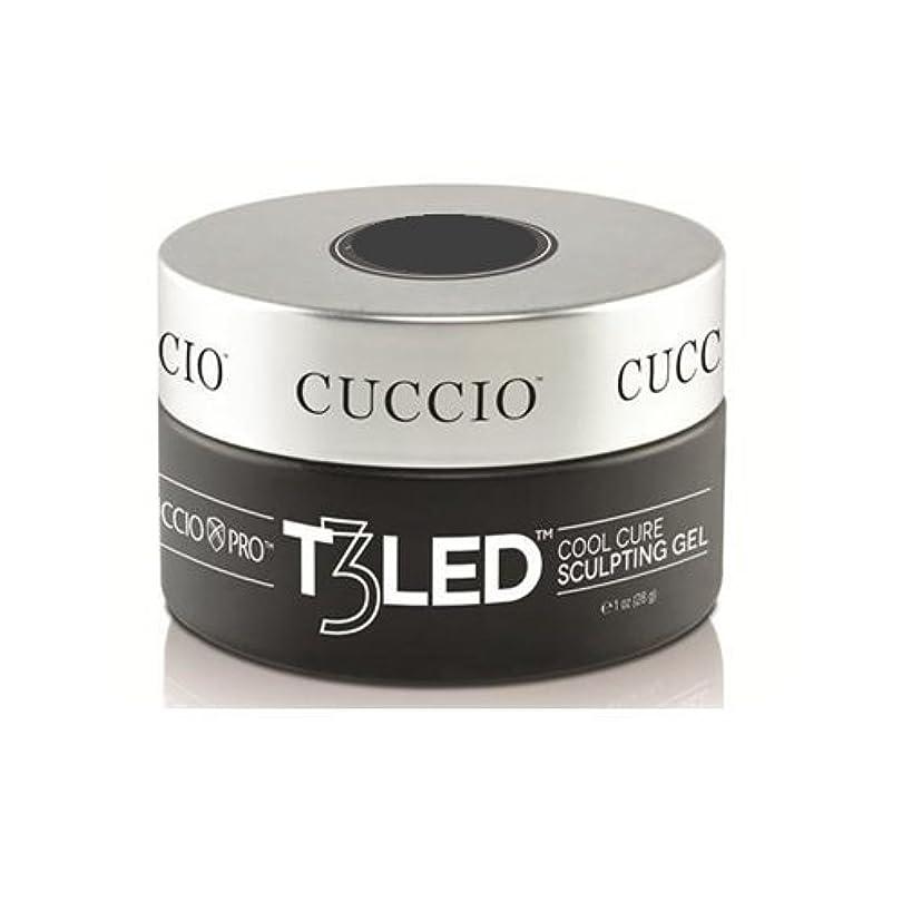 小さい悪党であるCuccio Pro - T3 LED/UV Controlled Leveling Gel - Opaque Welsh Rose - 1oz / 28g
