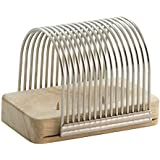 Charcoal Companion CC2031 Hasselback Potato Slicing Rack - Bake or Grill Delicious Potatoes in Your Kitchen or BBQ