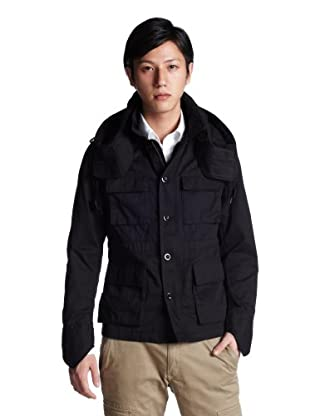M-65 Hooded Blouson 3225-139-1256: Black
