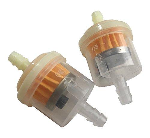 J-base 汎用 燃料フィルター 2個セット ホース内径 5mm ~ 6mm に対応 磁石付きで錆...