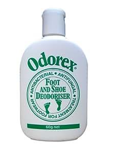 臭う足と靴についての事実! オダエックス 靴用除菌・防菌・消臭パウダー60g
