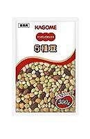 カゴメ トッピングミックス5種豆 300g×3個