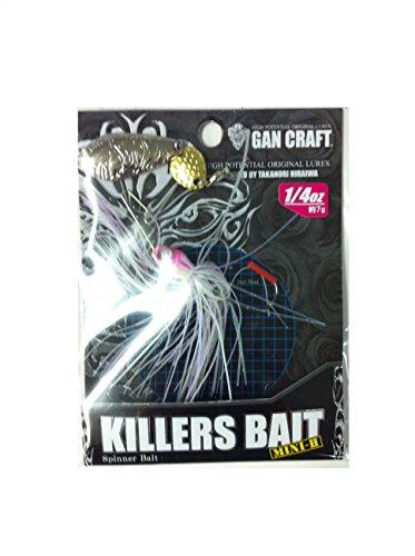 GAN CRAFT(ガンクラフト) ルアー キラーズベイトMINI-II3/8#06S NPホワイト