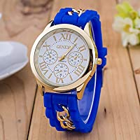 Women's Wrist Watch Quartz Casual Watch Silicone Band Analog Fashion Black/White / Blue - Red Light Blue Light Green