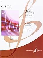 輸入楽譜/クラリネット/ローズ:32の練習曲