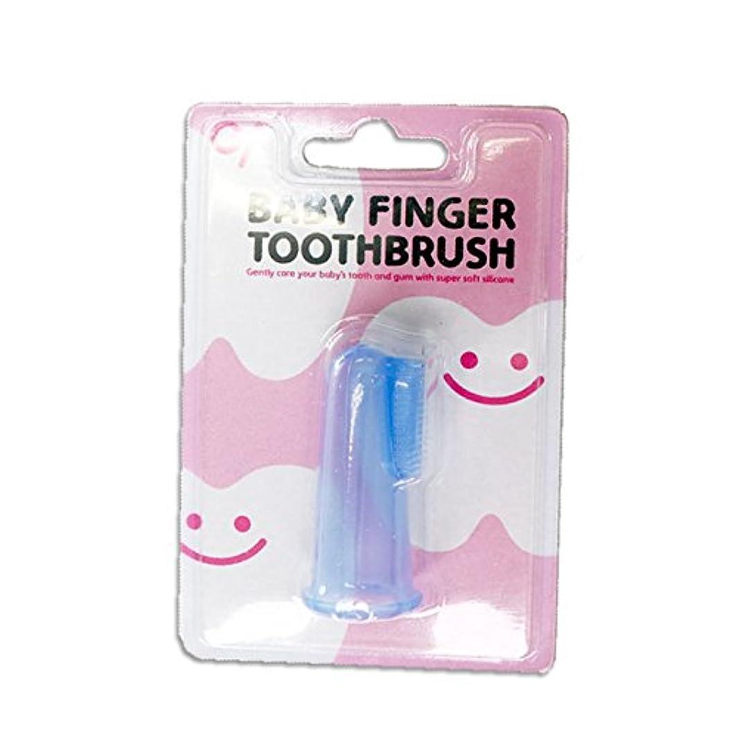 後継言語学サスペンションベビーフィンガートゥースブラッシュ ベビーフィンガー歯ブラシ 12個入り BABY FINGER TOOTHBRUSH