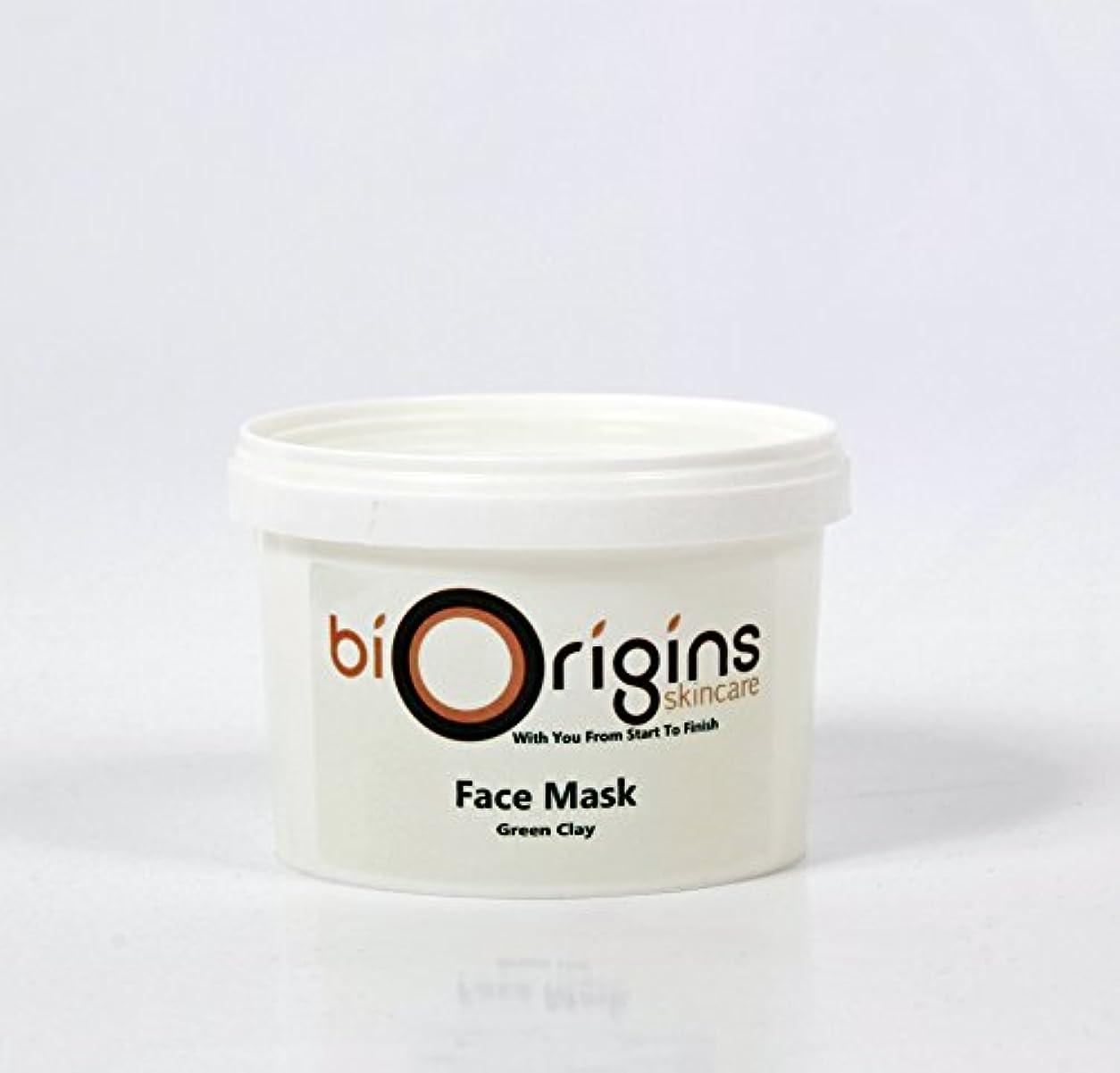 ニコチンレンド群衆Face Mask - Green Clay - Botanical Skincare Base - 500g