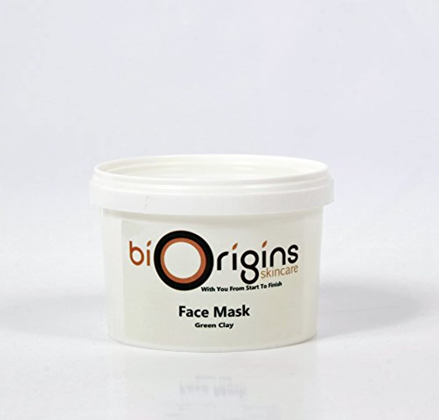 ロケット距離ビルダーFace Mask - Green Clay - Botanical Skincare Base - 500g