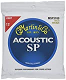 Martin アコースティックギター弦 SP ACOUSTIC (80/20 Bronze) MSP-3100 Light .012-.054