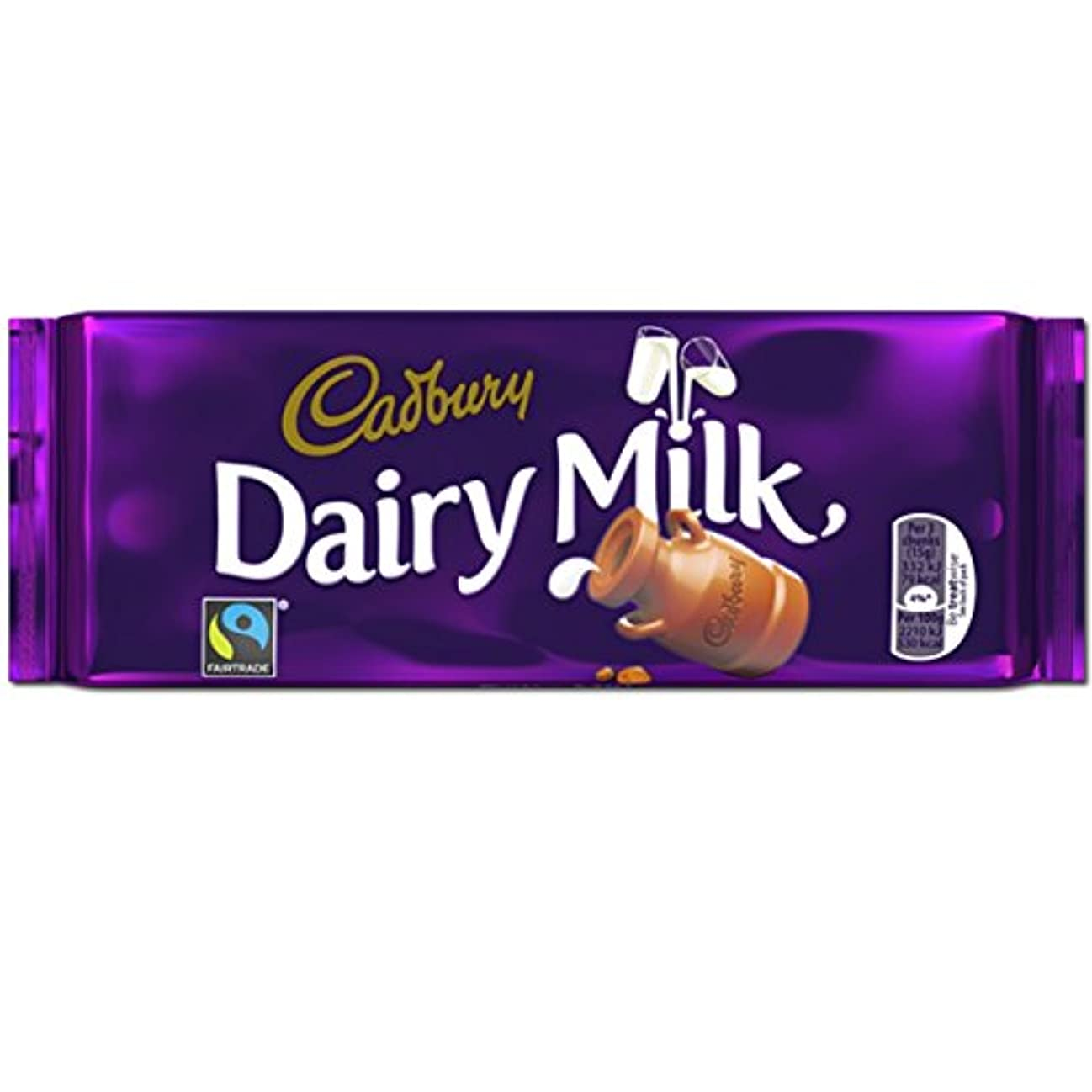 ラジエーターまともなタイトCadbury Dairy Milk Bar 110g (Box of 17) - (Cadbury) 酪農ミルクバー110グラム(17の箱) [並行輸入品]