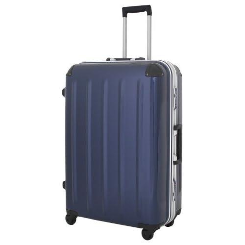 (シフレ) Siffler スーツケース RED SIGN GREEN WORKS B1167T-73 73cm メタリックブルー
