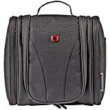 Wenger Compact Hanging Toiletry Kit Toiletry Bag, Black, 604599