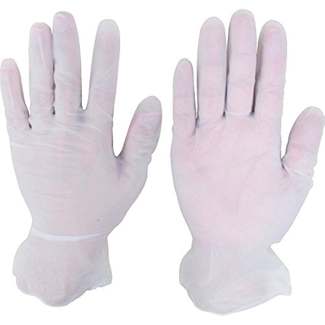 体骨折に対処するシンガー プラスチックグローブNo8100PF Lサイズ (100枚入) D201-L ビニール使い捨て手袋