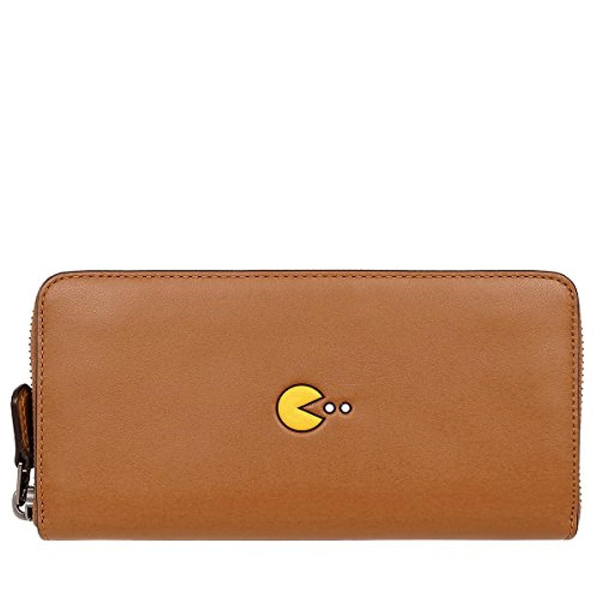 ましいバッフル祭り[コーチ] COACH 財布 (長財布) F55736 サドル QB/SD レザー 長財布 メンズ レディース [アウトレット品] [並行輸入品]