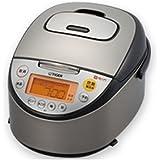 タイガー IH炊飯器 「炊きたて」 5.5合 tacook ブラック JKT-A100K