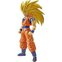 Bandai Hobby Figure-Rise Standard Super Saiyan 3 Son Goku Dragon Ball Z Building Kit [Floral] [並行輸入品]