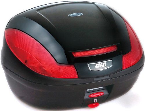 GIVI(ジビ)【イタリアブランド】 モノロックケース(トップケース/リアボックス) ブラック E470N902D 68058 高性能&スタイリッシュデザイン