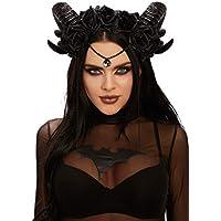 Dreamgirl Women's Mystical Ram's Horn Headpiece