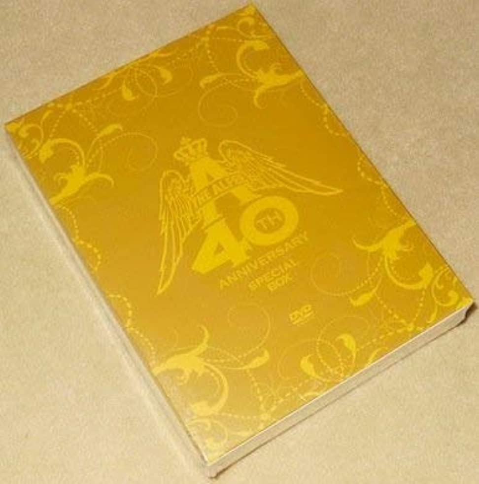 数学品揃え私たちのTHE ALFEE 40th Anniversary スペシャルボックス(DVD2枚組+CD16枚組)