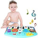 ベビーピアノジム ピアノプレイマット 音楽マット 知育おもちゃ 知育おもちゃ 新生児