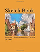Sketch Book: 8.5 in. x 11 in. 100 pages, Professional,Artist, Student, Kids Drawing, SKetching, Doodling, Writing Pad