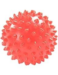 Perfeclan ヨガ マッサージボール 触覚ボール ツボ押し 7cm オレンジ