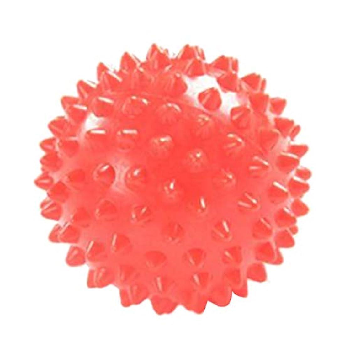 ピル剥離活性化ヨガ マッサージボール 触覚ボール ツボ押し 7cm オレンジ