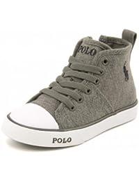 Polo Ralph Lauren(ポロラルフローレン) DAYMOND MID ZIP(デイモンドミッドジップ) 993232 グレー