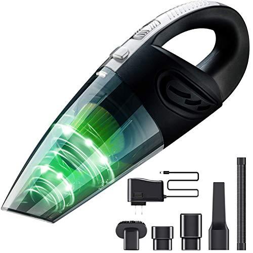 コードレス ハンディクリーナー 軽量 持ちやすい 掃除機 充電式 25分連続稼働 乾湿両用クリーナー 水洗 フィルタ 清潔簡単 超強吸引力 120W強力ルーター採用