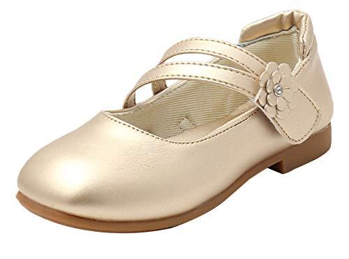 6ff1ca03d50cf (ラボーグ) La Vogue キッズ ドレス シューズ 子供靴 フォーマル シューズ 女の子 ガールズ プリンセス風 七五三 入園式 発表会 誕生日  結婚式 可愛い ゴールド 1.