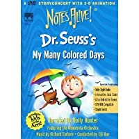 Dr. Seuss's My Many Colored Days (Notes Alive)【DVD】 [並行輸入品]