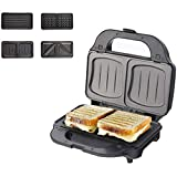 Waffle Iron 700W+Waffle Maker Machine for Waffles,Hash Browns or Any Breakfast,Lunch Snacks with Easy Clean,Non-Stick Coated