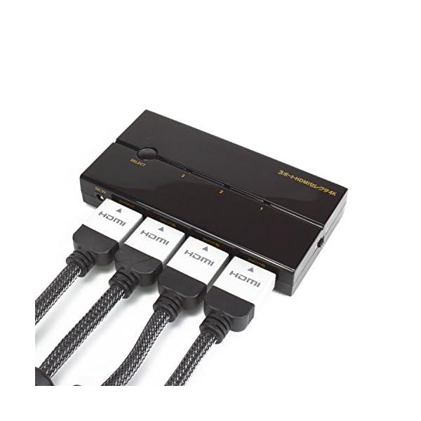 多機種対応HDMIセレクタ『3ポートHDMIセ...の紹介画像6
