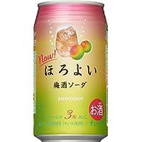 サントリー チューハイ ほろよい<梅酒ソーダ> 350ml×24缶