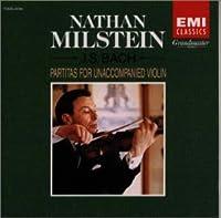 バッハ:無伴奏ヴァイオリンのためのパルティータ集