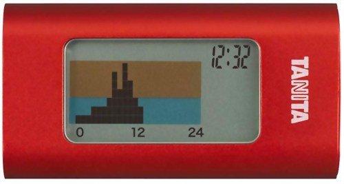 タニタ(TANITA) 活動量計 カロリズムスマート レッド AM-121-RD